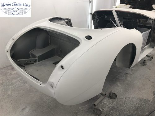 Austin Healey 100 6 Currently Under Restoration 16