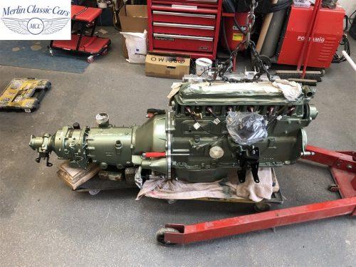 Austin Healey 100 6 Currently Under Restoration 19