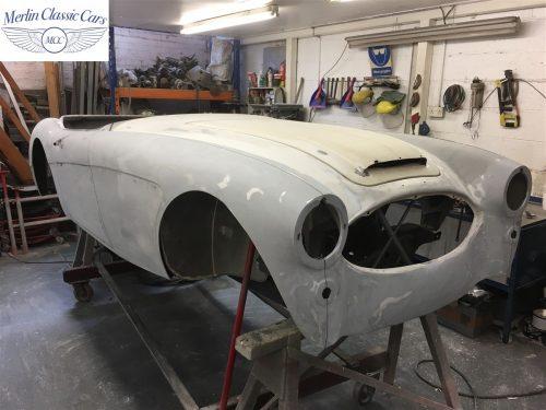 Austin Healey 100 6 Currently Under Restoration 22