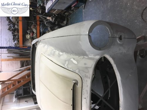 Austin Healey 100 6 Currently Under Restoration 25