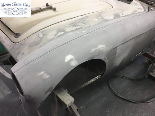 Austin Healey 100 6 Currently Under Restoration 28