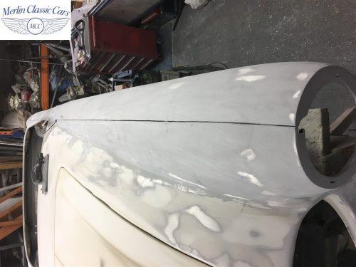 Austin Healey 100 6 Currently Under Restoration 29