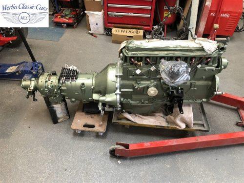 Austin Healey 100 6 Currently Under Restoration 30