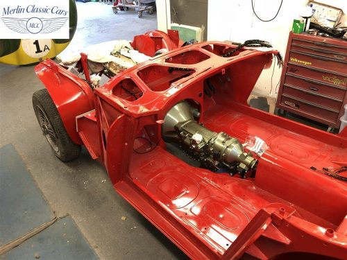 Austin Healey 100 6 Currently Under Restoration 31