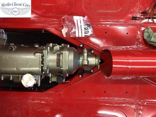 Austin Healey 100 6 Currently Under Restoration 32