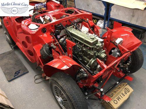Austin Healey 100 6 Currently Under Restoration 34