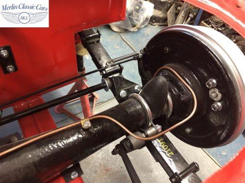 Austin Healey 100 6 Currently Under Restoration 40