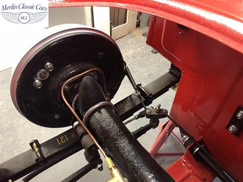 Austin Healey 100 6 Currently Under Restoration 41