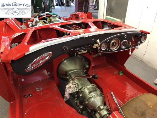 Austin Healey 100 6 Currently Under Restoration 42