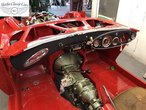 Austin Healey 100 6 Currently Under Restoration 42