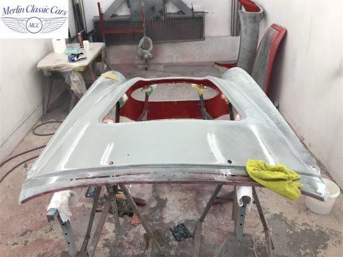 Austin Healey 100 6 Currently Under Restoration 47