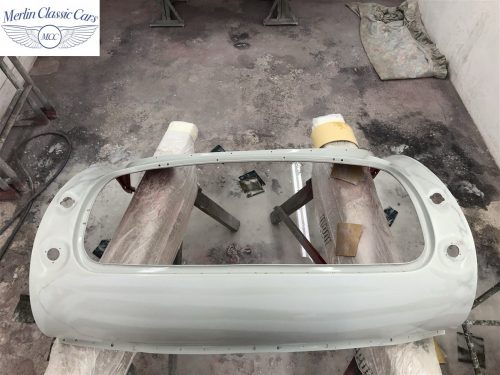 Austin Healey 100 6 Currently Under Restoration 48