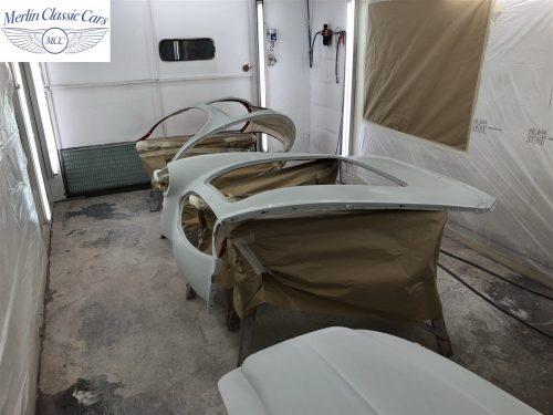 Austin Healey 100 6 Currently Under Restoration 52