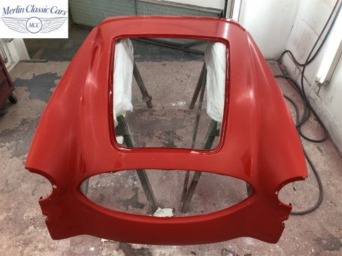 Austin Healey 100 6 Currently Under Restoration 62