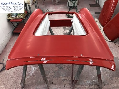 Austin Healey 100 6 Currently Under Restoration 63
