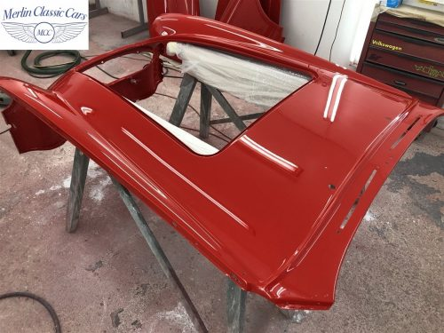 Austin Healey 100 6 Currently Under Restoration 65