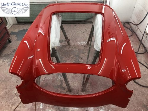 Austin Healey 100 6 Currently Under Restoration 66