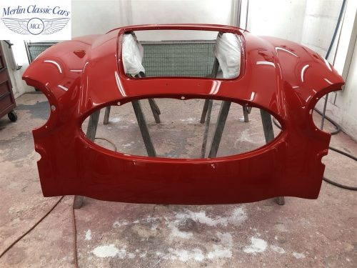 Austin Healey 100 6 Currently Under Restoration 67