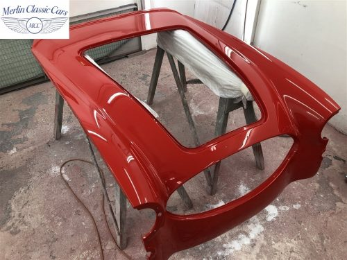 Austin Healey 100 6 Currently Under Restoration 68