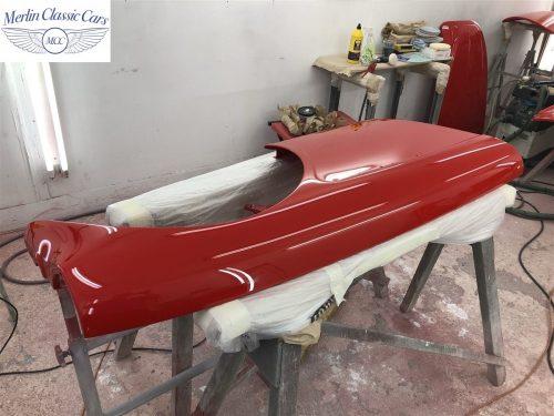 Austin Healey 100 6 Currently Under Restoration 72