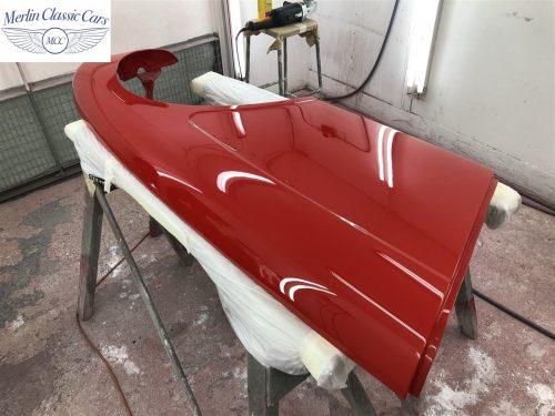 Austin Healey 100 6 Currently Under Restoration 74