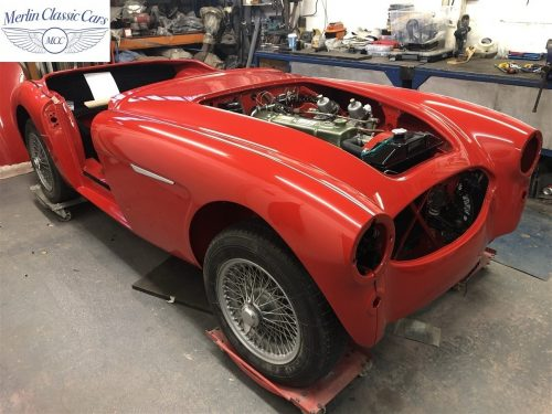 Austin Healey 100 6 Currently Under Restoration 79