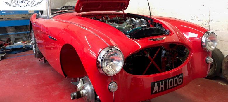Austin Healey 100 6 Currently Under Restoration (79)