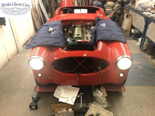 Austin Healey 100 6 Currently Under Restoration 83