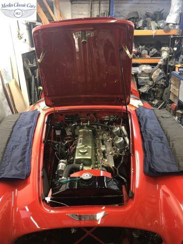 Austin Healey 100 6 Currently Under Restoration 84
