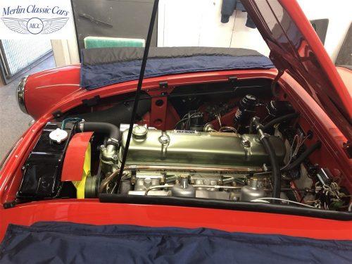 Austin Healey 100 6 Currently Under Restoration 86