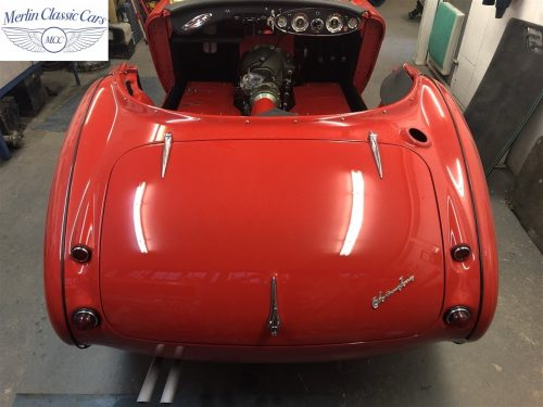 Austin Healey 100 6 Currently Under Restoration 87
