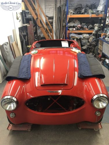 Austin Healey 100 6 Currently Under Restoration 89