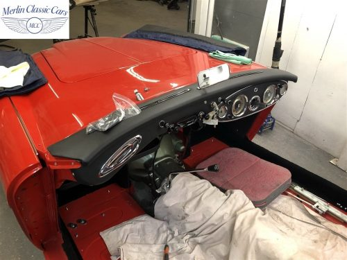 Austin Healey 100 6 Currently Under Restoration 92
