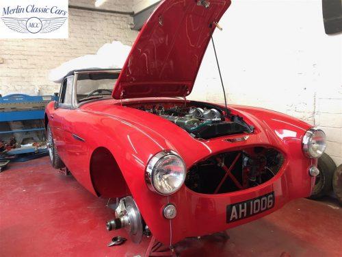 Austin Healey 100 6 Currently Under Restoration 96