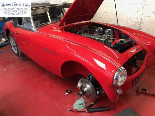 Austin Healey 100 6 Currently Under Restoration 97