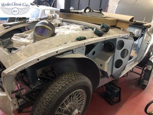 Austin Healey BJ7 Currently Under Restoration 1