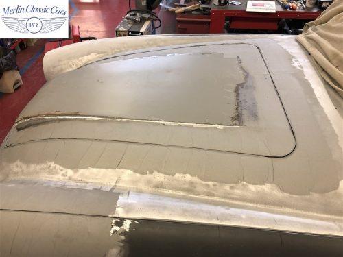 Austin Healey BJ7 Currently Under Restoration 10