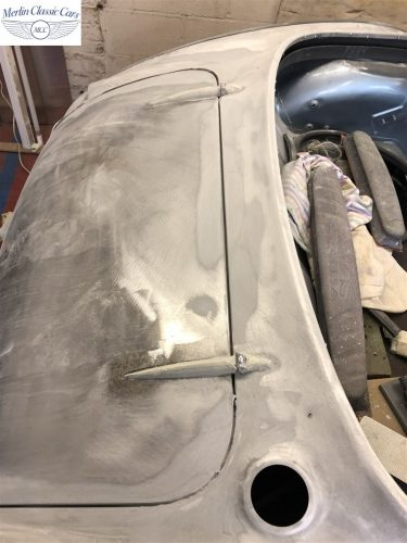 Austin Healey BJ7 Currently Under Restoration 13