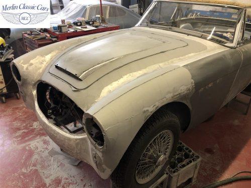 Austin Healey BJ7 Currently Under Restoration 16