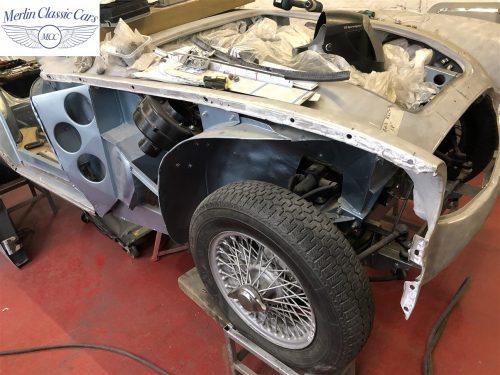 Austin Healey BJ7 Currently Under Restoration 2