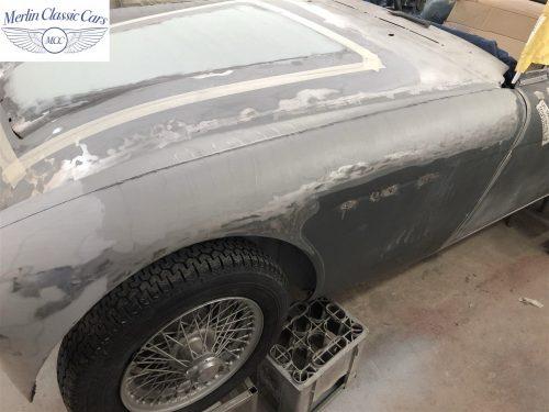 Austin Healey BJ7 Currently Under Restoration 26