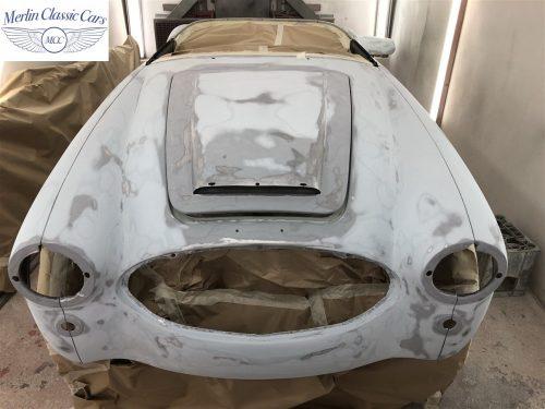 Austin Healey BJ7 Currently Under Restoration 32