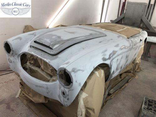 Austin Healey BJ7 Currently Under Restoration 33
