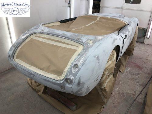 Austin Healey BJ7 Currently Under Restoration 36