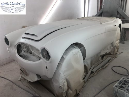 Austin Healey BJ7 Currently Under Restoration 38