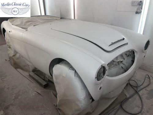 Austin Healey BJ7 Currently Under Restoration 39