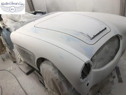 Austin Healey BJ7 Currently Under Restoration 44