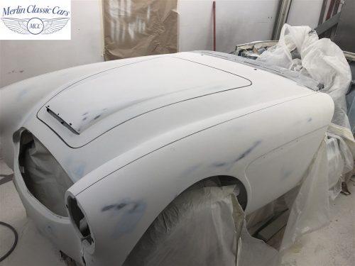 Austin Healey BJ7 Currently Under Restoration 45