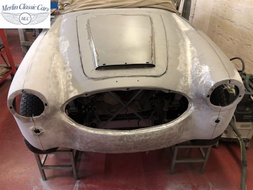 Austin Healey BJ7 Currently Under Restoration 5