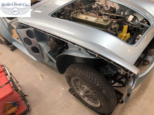 Austin Healey BJ7 Currently Under Restoration 57
